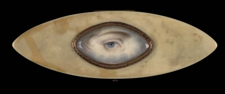 18th c elliptical eye
